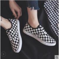 新款帆布鞋女韩版学生原宿ulzzang百搭休闲平底布鞋板鞋