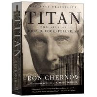 洛克菲勒传 英文原版 Titan The Life of John D. Rockefeller 福布斯推荐书单 人物