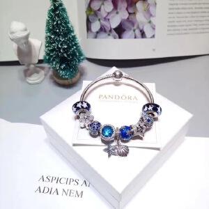 潘多拉蓝色雪花海星