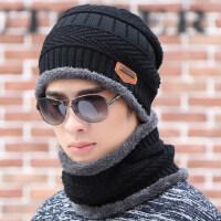 韩版潮时尚毛线帽保暖针织冬天防寒棉帽青年户外骑车男士帽子