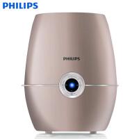飞利浦(PHILIPS)加湿器 家用办公室卧室小型智能增湿加湿器静音模式孕妇婴儿 HU4902/00金色
