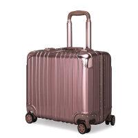 铝框登机箱18寸女小型拉杆箱商务男万向轮行李箱包迷你旅行箱子16 18寸