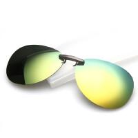 夹片太阳镜金属板材眼镜专用近视夹片小夹子偏光蛤蟆墨镜轻