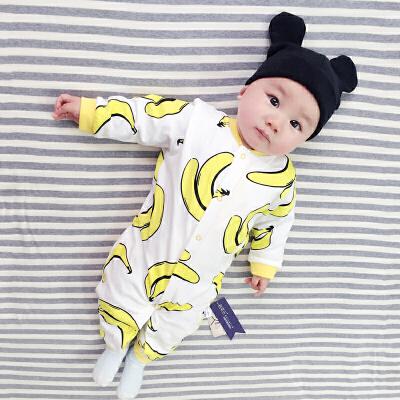 婴儿连体衣服宝宝新生儿冬季0岁3个月季7满月3春装季长袖新年 发货周期:一般在付款后2-90天左右发货,具体发货时间请以与客服协商的时间为准