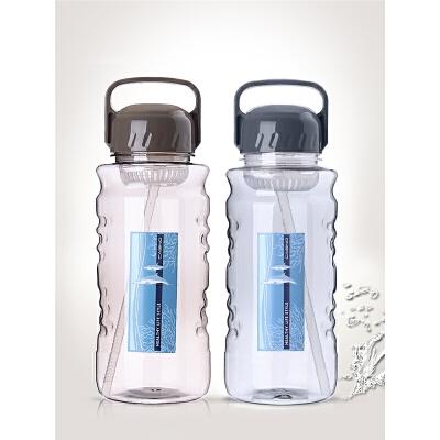 【支持礼品卡】大容量水杯塑料大码太空杯便携户外运动水壶大杯子2000mls2g 2000ML大容量  摔不破 无异味