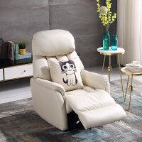 头等太空舱沙发简约现代沙发懒人电动多功能科技布艺沙发躺椅