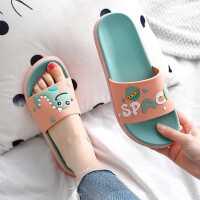 拖鞋女外穿情侣夏天居家用室内浴室防滑可爱儿童凉拖鞋男2021新款