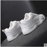 加绒小白鞋女冬季新款百搭帆布鞋智熏鞋子超火老爹网红运动鞋