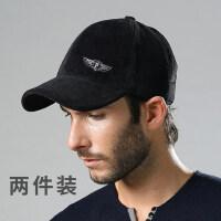 韩版护耳帽毛呢加厚棉帽潮保暖帽子男士棒球帽时尚男士户外帽子