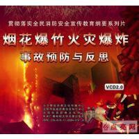 原装!正版!烟花爆竹火灾爆炸事故预防与反思2VCD视频讲座光盘