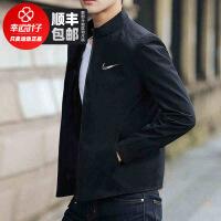 幸运叶子 Nike耐克夹克男秋季新款运动服休闲健身跑步外套928011-013