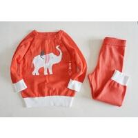 婴童套装 宝宝毛衣+毛裤两件套 售完无补