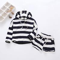 女童春装套装儿童2-3-4岁5韩版卫衣短裤宝宝两件套2018新款女童潮