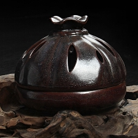 尚帝 仿古窑变香炉 盘香香炉(安全包装)功夫茶具配件香道茶道2014WHXD13K
