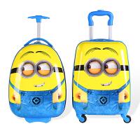 儿童拉杆箱万向轮女16寸旅行箱卡通登机箱行李箱男18寸学生拖箱