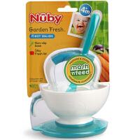 【当当自营】努比Nuby 研磨碗辅食勺套装婴儿辅食碾磨辅食器辅食料理机 白色 01NB2354352
