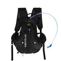 跑步双肩背包骑行水袋小背包15L升防水超轻手机旅游登山小背包