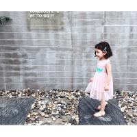 2018新款女公主韩版连衣裙无袖背心裙宝宝夏季洋气裙子潮儿童纱裙
