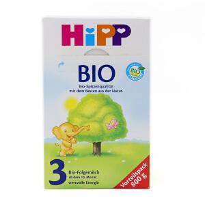 【当当海外购】德国进口 Hipp Bio喜宝 婴幼儿有机奶粉3段 2078(10-12个月宝宝)800g