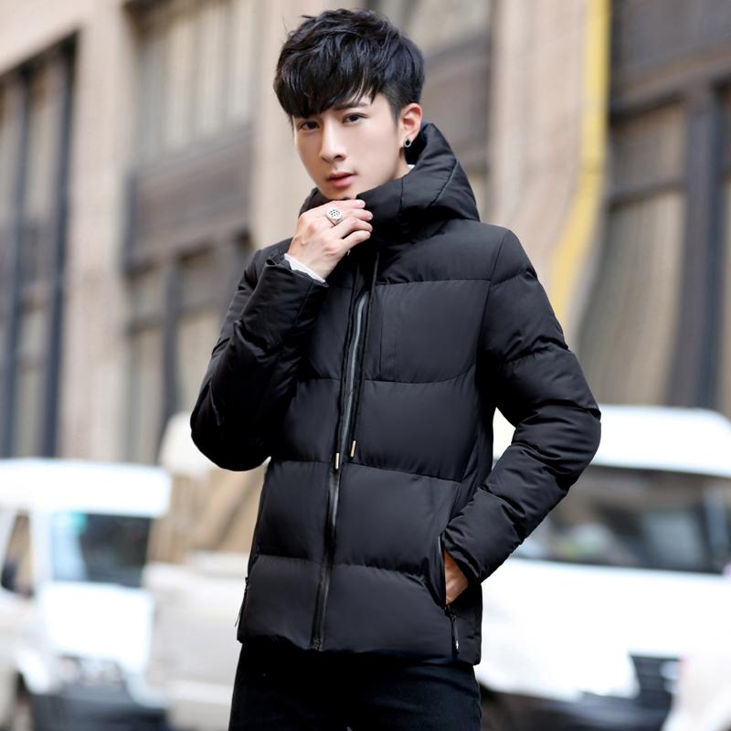棉衣男士冬季外套韩版潮流短款加厚棉服棉袄潮牌连帽