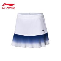 李宁裤裙女士2020新款国家队赞助羽毛球系列吸汗舒适针织运动裤
