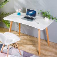 良木电脑桌宜家家居北欧风台式书桌办公桌现代简约学生书桌旗舰
