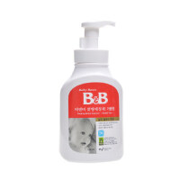 韩国保宁B&B 奶瓶泡沫型清洁剂 奶瓶奶嘴清洗剂 550ml 瓶装