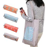 户外旅游大容量单肩包女士旅行包韩版书包休闲可折叠收纳包购物袋
