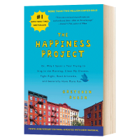 The Happiness Project 幸福计划 英文原版哲学书 Gretchen Rubin Harper 英文版