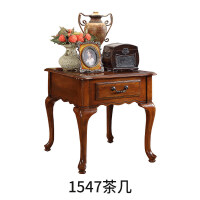 美式实木角几欧式小户型家具创意省空间沙发柜茶几边柜1547