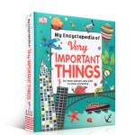 顺丰发货 英文原版 儿童百科 我的重点小百科 My Encyclopedia of Very Important Th