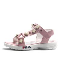 女童凉鞋夏季儿童小公主鞋女孩软底露趾凉鞋
