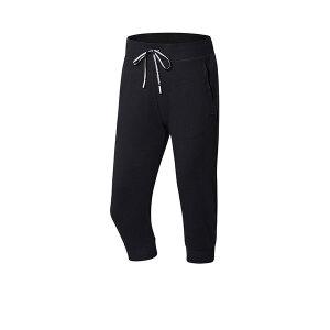 李宁LINING七分卫裤女士训练系列吸汗舒适透气针织短装夏季运动裤
