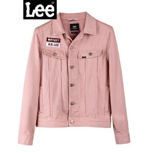 Lee2018秋季新款薄款复古纯色多口袋工装牛仔夹克外套L300313FY7NQ