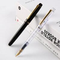日本PILOT百乐78g+透明钢笔学生成人用男女孩书法练字礼盒装商务