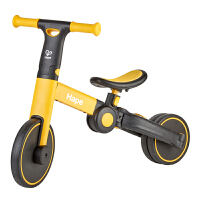Hape多功能平衡�18��月以上三合一�和�玩具滑行�三��平衡�童��滑
