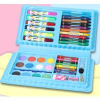 水彩笔安全可水洗儿童水彩画笔套装小学生彩笔颜色笔幼儿园彩色笔美术学生蜡笔24绘画套装