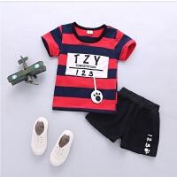 童装男童女宝宝夏装套装夏季衣服婴儿童短袖两件套0-1-2-3-4岁半