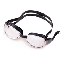 大框游泳眼镜 电镀平光大镜面舒适高清防雾泳镜 电镀防水男女通用游泳镜