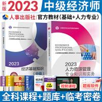 备考2021 经济师中级2020人力资源 教材2本套 中级经济师2020 人力资源 经济师中级 2020经济师考试教材