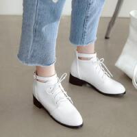 童鞋女童短靴春秋儿童马丁靴大童靴子韩版皮靴小公主单靴
