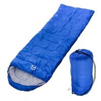 户外睡袋夏季信封棉睡袋轻午休登山野营睡袋 送包装袋