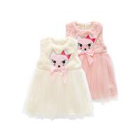 婴儿衣服装0岁1宝宝裙子加绒加厚潮款连衣裙童公主裙冬装新年