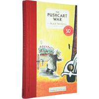 英文原版 The Pushcart War 手推车大作战 儿童文学名著小说精装收藏版 课外读物