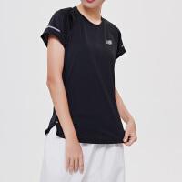 NewBalance/新百伦女短袖T恤透气针织跑步运动上衣AWT81200