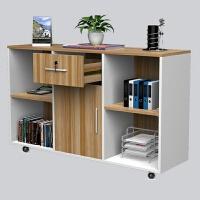 木质办公家具档案柜书柜移动矮柜办公柜子资料柜木质办公文件柜 全白