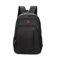 定制16寸笔记本双肩包户外双肩电脑包旅行背包 商务背包书包 9905黑色 17寸