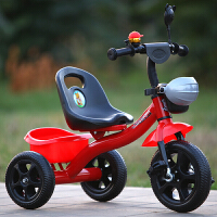 儿童三轮车小孩自行车童车玩具男女宝宝2-3-4-5岁脚踏车单车可推