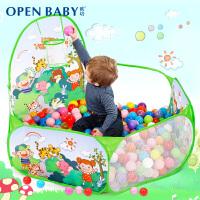 小孩圆球球宝宝波波球玩具球类泡泡球婴儿童海洋球池彩色球塑料球