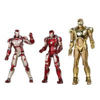 复仇者联盟2mk42MK43钢铁侠手办模型玩具 MK50全关节可动玩偶摆件